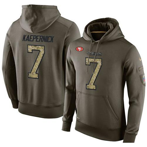 cheap for discount 85ca6 5fcf3 NFL Men's Nike San Francisco 49ers #7 Colin Kaepernick ...