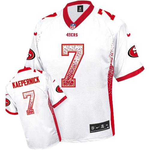 check out aaaae 35376 Nike 49ers #7 Colin Kaepernick White Men's Embroidered NFL ...